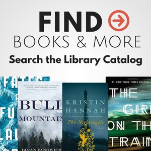 find books and more in the library catalog