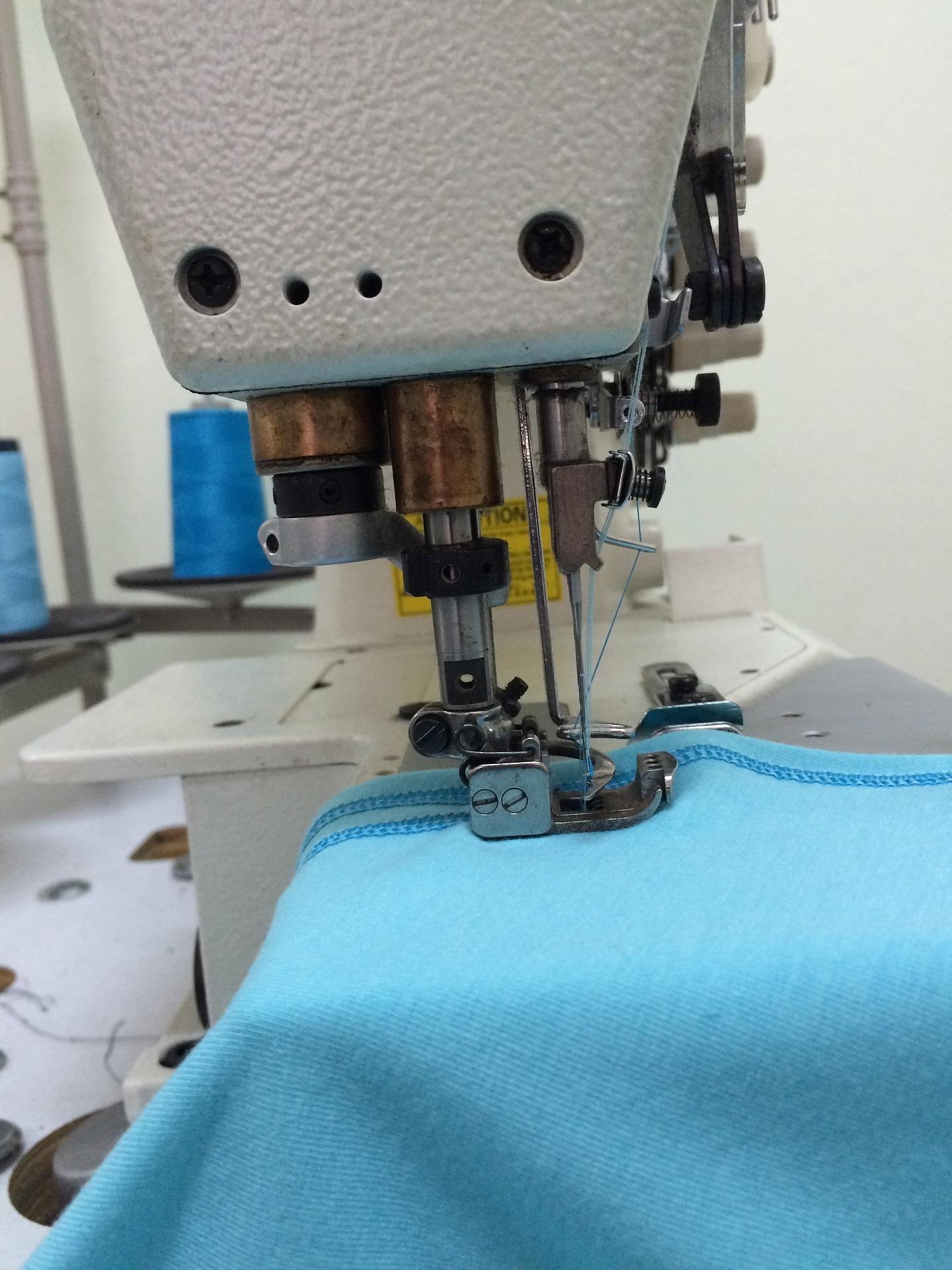 Learn to machine sew at the fleece mitten workshop.