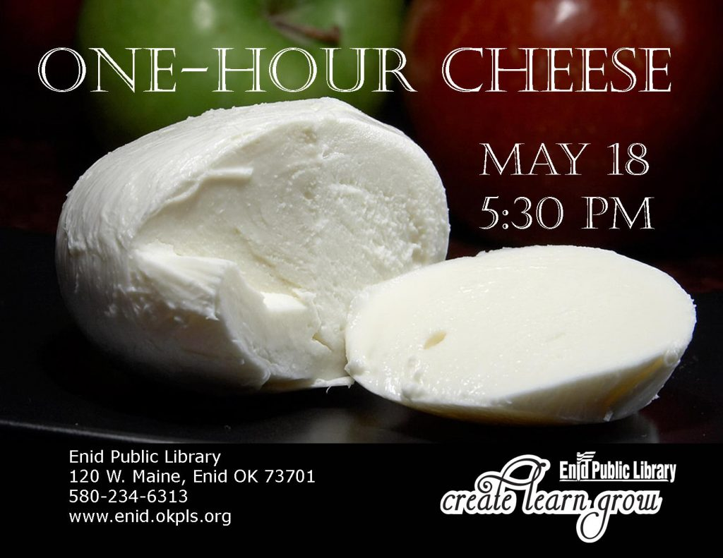 Let's make cheese!