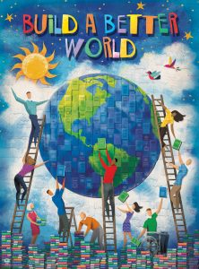 Adults Build a Better World This Summer @ the Library