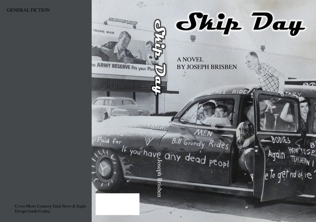 Author and Enid Native Joseph Bisben Visits the Library on August 31