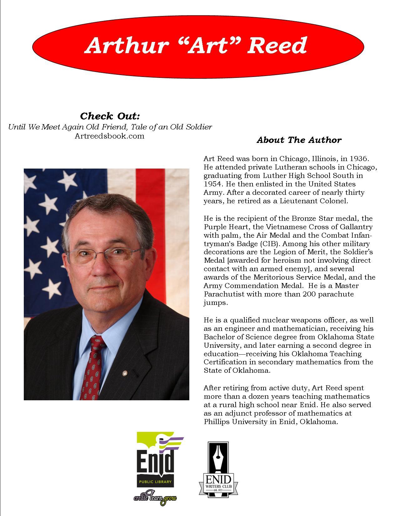 Inaugural enid author fest 2017 enid public library inaugural enid author fest 2017 xflitez Gallery