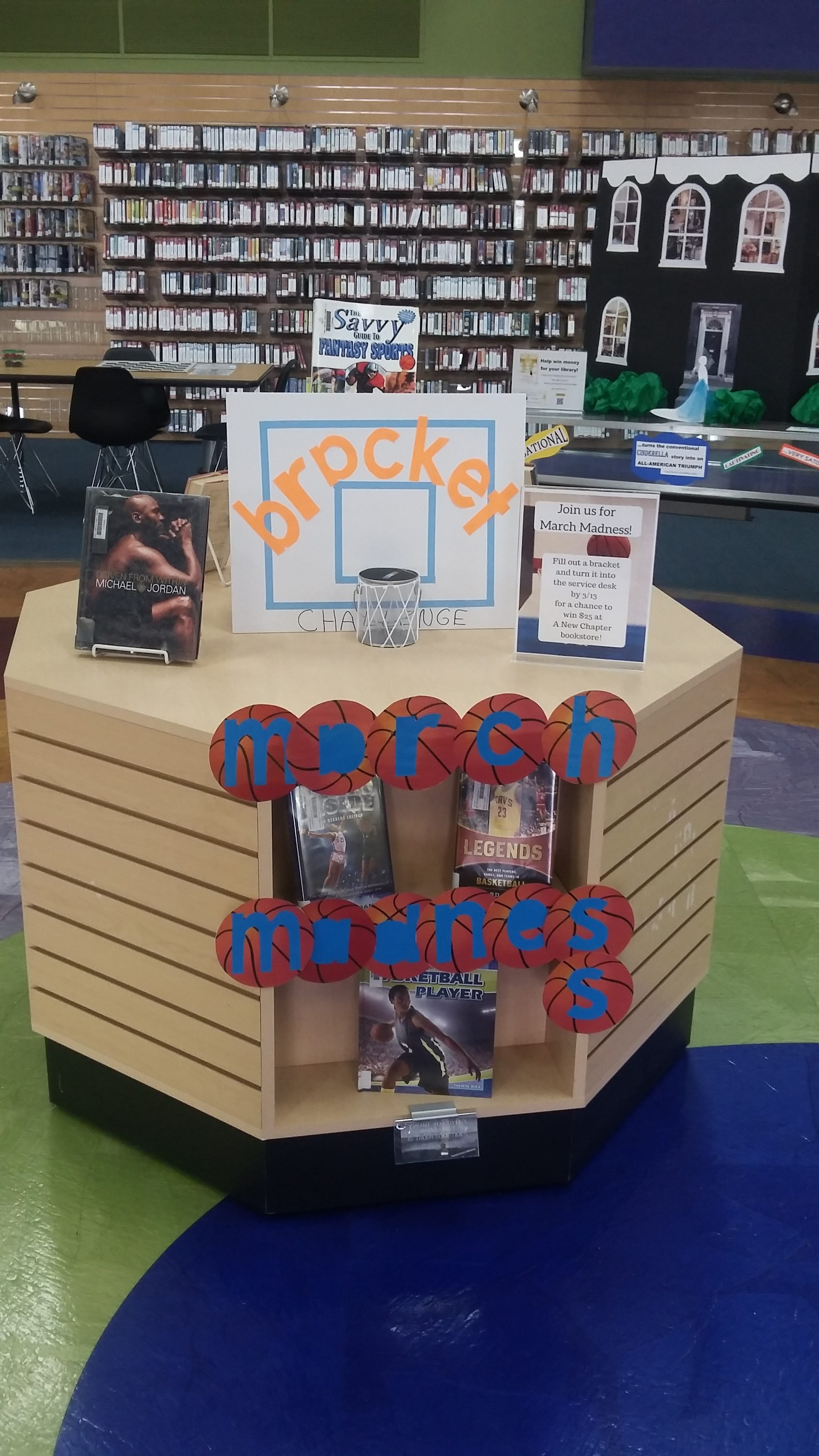 March Madness Display