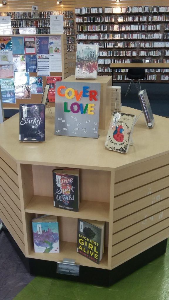 Cover Letter Book Display