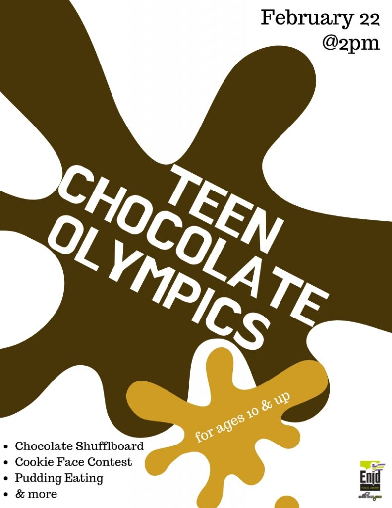 Teen Chocolate Olympics Flyer