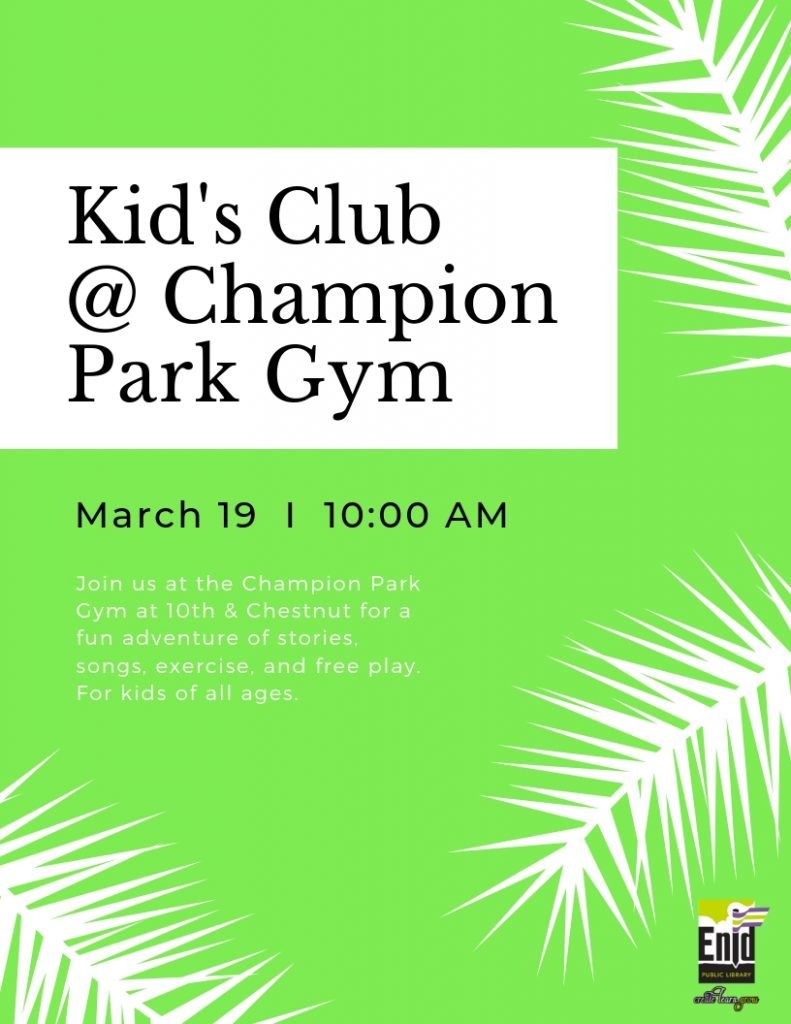 Kid's Club Event
