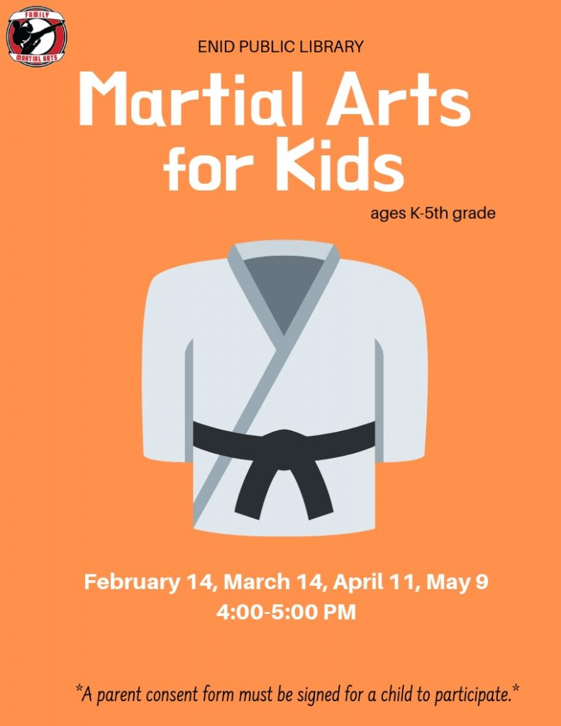 Martial Arts for Kids Flyer