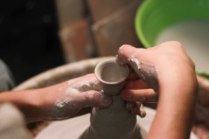 teen pottery event