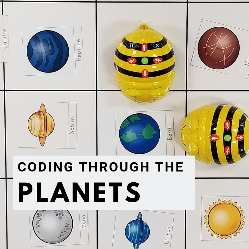 beebots on planets