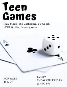 dice and cards