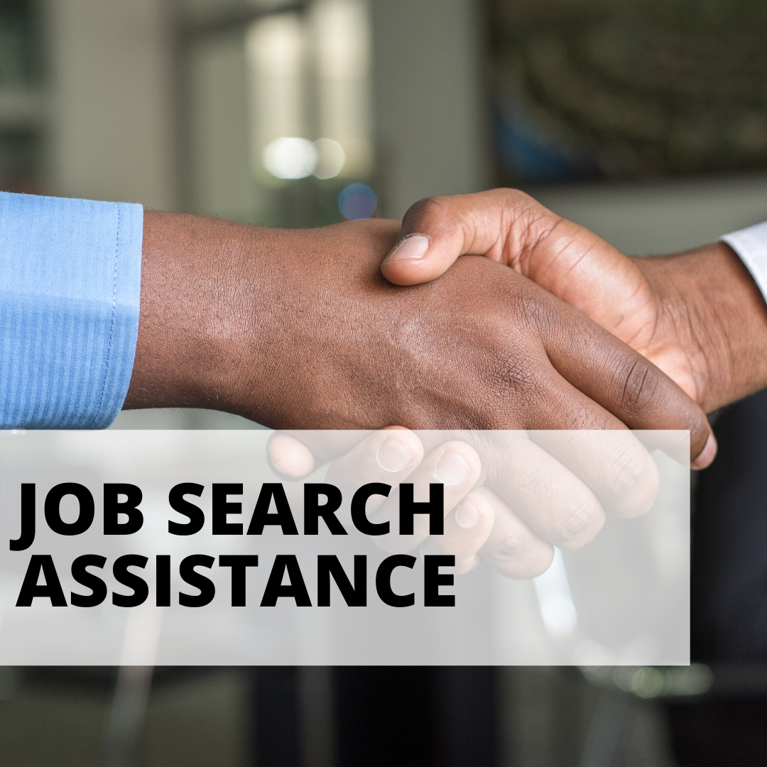 job search help with a handshake between two men