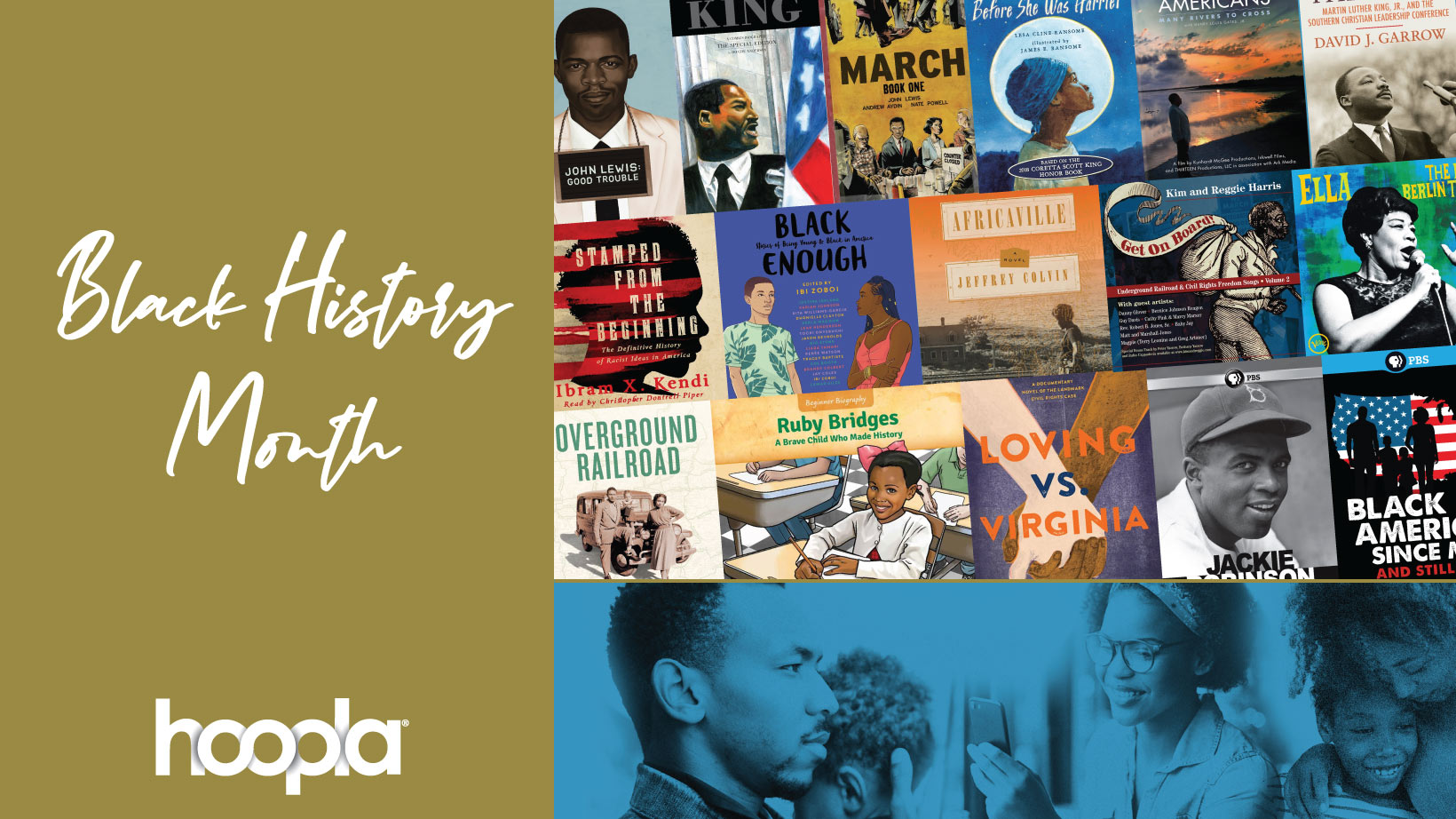 hoopla black history month titles