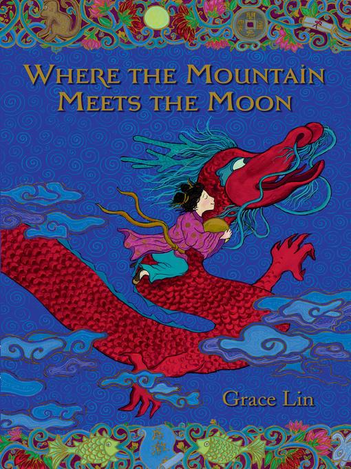 girl hanging onto dragon