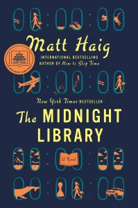 book cover for midnight library